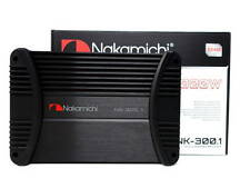 Nakamichi NK300.1 High Power 1 Channel Mono Block Car Stereo Amp Amplifier 1000W