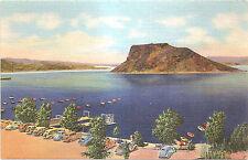 Boat Landing - Elephant Butte Lake, near Hot Springs, New Mexico NM Postcard