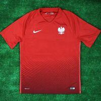 86d4ac982 rpol16: Poland AWAY shirt brand new official tee Euro 2016 Nike jersey - top