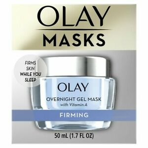 Olay Firming Overnight Gel Face Mask with Vitamin A, 1.7 fl oz