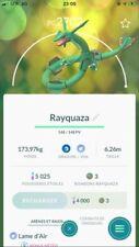 Pokémon Go Compte - Account + Rayquaza High PC !!!!
