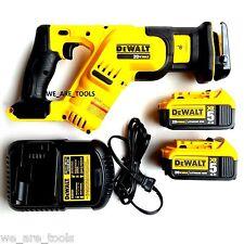 Dewalt DCS387 20V Cordless Reciprocating Saw, 2 DCB205 Batteries,Charger 20 Volt