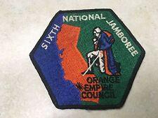 1964 National Jamboree Orange Empire Council Contingent Patch