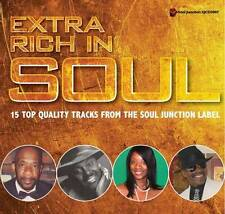 EXTRA RICH IN SOUL Various Artists NEW & SEALED MODERN SOUL CD (SOUL JUNCTION)