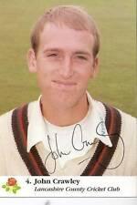 Card Signed Cricket Photos