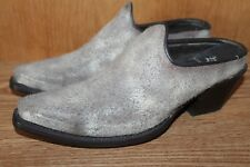 BARELY USED!!! DONALD PLINER Womans LEATHER MULES Shoes Size 7.5 Med