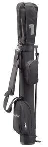 Standbag | Golfbag | Pencilbag mit Standfüßen - ein ideales Reisebag - schwarz