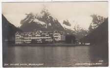 NORWAY - Kvickne Hotel - 1923 postally used real photo postcard