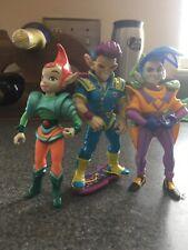 Teenage Mutant Ninja Turtles ZAK NEUTRINO set vintage lot Tmnt Figure figures