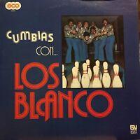 Cumbias con Los Blanco Velvet Venezuela Mexico The Blub Latin Salsa Cumbia lp