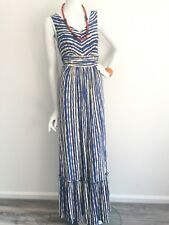 Anthropologie Maxi Dress stretch jersey Tracy Reese mermaid SMALL