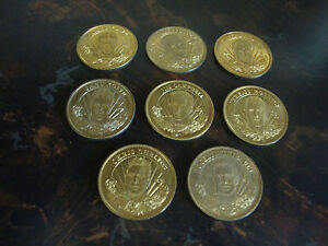 1996-97 Pinnacle Mint Hockey Coins---Lot Of 8---See List
