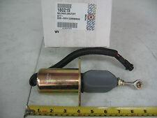 """Cummins 6B 6C ISC Fuel Shutoff Solenoid 3"""" O/C Mounting PAI# 180215 Ref# 3935649"""