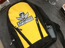 BREITLING BACKPACK BLACK, YELLOW X WHITE