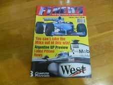 F1 NEWS  FORMULA ONE RACING MAGAZINE #5 APRIL 1998  MIKA HAKKINEN ARGENTINE GP