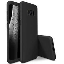 360°CUBIERTA COMPLETA Antichoque Funda para teléfono + PROTECTOR Samsung Galaxy
