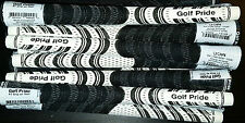 New GOLF PRIDE MULTICOMPOUND NEW DECADE Black/WHITE MIDSIZE GOLF GRIP
