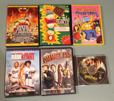 Lot of 6 Dvd Movies. South Park, Simpsons, Zombieland, Baseketball, Harry Potter