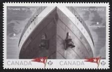 Canada 2012 #2537i Titanic -se-tenant pair - Unused