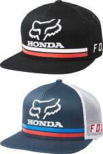 Fox Racing Honda Snapback Hat -  Mens Lid Cap