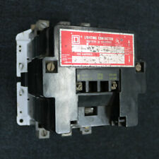 Used Square D 8903SQO2 Lighting Contactor 120V Coil, 100A, 3P