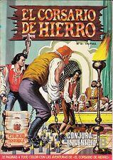 EL CORSARIO DE HIERRO (ed. histórica) nº: 18 (de 58 d colección completa. ed. B)