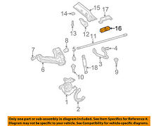 GM OEM Front Suspension-Support Assembly Insulator 15592575