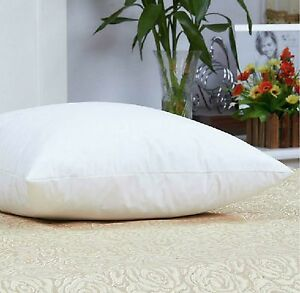 Luxurious 100% Down 650 Fill Power White Goose Down Pillow Queen Size