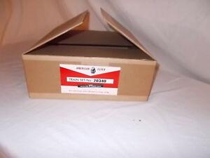 AMERICAN FLYER 20340 NEW HAVEN  PASSENGER REPRODUCTION SET BOX ONLY NO TRAINS