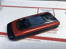 Nokia 6555 - Red (AT&T) Cellular Phone Nice Shape 3G Basic Camera Flip Phone