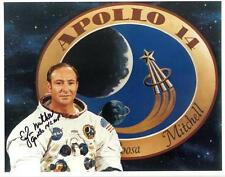 "Edgar Mitchell - Colour 10x 8"" Signed 'Apollo 14' Studio Pose Photo - UACC RD223"