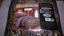 WOODS ONE PIECE COMFORTER 15 COLORS ALL SIZES