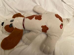 """Vintage 1985 25"""" Brown &white Pound Puppy"""