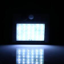 30 LED Solar Wand Leuchte Garten Weg Lampe mit Bewegungsmelder und Lichtsensor