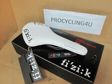 Fizik Antares Carbon Braided Rails Road Bicycle Cycling Saddle White New MTB CX