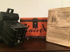 1933 Vintage UniveX Model A MINIATURE Bakelite Camera Spy Camera Subminiature