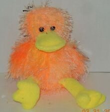 Vintage TY Punkies FLIPFLOP the Duck Beanie Babies plush toy
