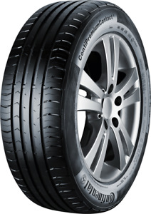 NEW Continental Conti Premium Contact 5 Tyres 215 / 60  R17 - 96H