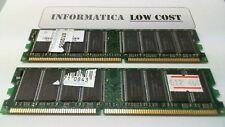 1 GB memoria ram nanya DDR 400 MHz CL3 (2 barrette da 512MB)