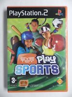 COMPLET jeu EYE TOY PLAY SPORTS sur playstation 2 PS2 en francais juego gioco