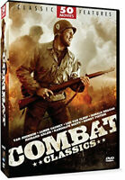 50 Movies Features Combat Classic DVD