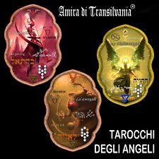 tarocchi degli angeli mazzo carte oracolo vintage lettura arcani antichi rari V1
