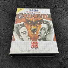 SEGA Master System Wolfchild PAL Quasi neuf