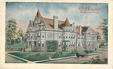 1918 General Offices THE MACCABEES Fraternal Order, Detroit, Michigan Postcard