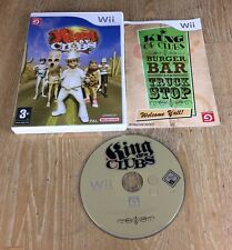 King OF CLUBS Nintendo Wii PAL GAME + compatibile con Wii U