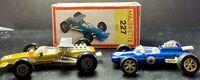 Majorette Gold 227 LOTUS Racer w/BOX France & Zee Dyna-Mite LOTUS CLIMAX HK Blue