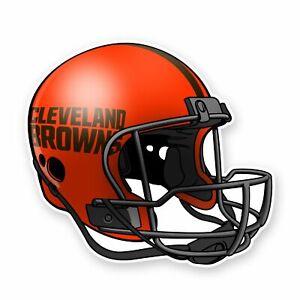 Cleveland Browns Football Emblem Helmet Sticker Die Cut Vinyl Decal Car Wordmark