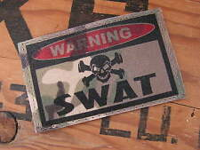 SNAKE PATCH .:: WARNING SWAT ::. US écusson SNAKE PATCH MULTICAM