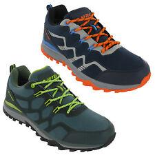 Hi-Tec Mens Waterproof Shoes Walking Outdoor Comfort Trail Low Trainers Stinger