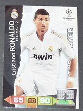CRISTIANO RONALDO REAL MADRID UEFA PANINI FOOTBALL CHAMPIONS LEAGUE 2011 2012